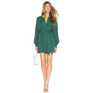 NWT Tularosa Topanga Dress in Emerald Green